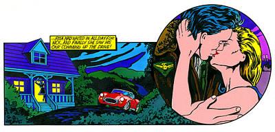 Pop Art Photograph - Ac Cobra And Kisee by John Reilly