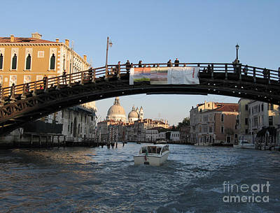 Academia. Venice Art Print by Bernard Jaubert