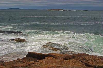 Photograph - Acadia National Monument Seascape by Gregory Scott