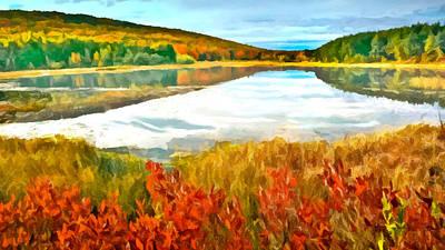 Painting - Acadia National Park by Bob and Nadine Johnston