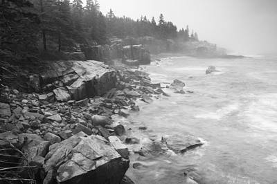 Photograph - Acadia Seashores by Bernard Chen