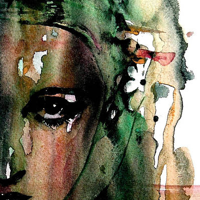 Eyes Painting - Accept Me For What I Am  by Paul Lovering