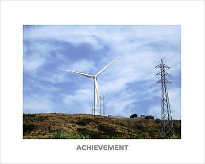 Photograph - Achievement Motivational by John Shiron