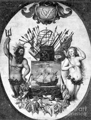 Achievement Of The Voc, 1651 Art Print