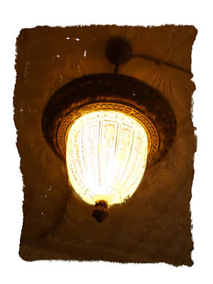 Digital Art - Acorn Light Interior by Geoff Strehlow