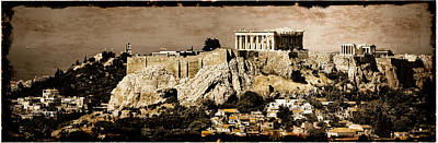Photograph - Athens, Greece - Acropolis by Mark Forte