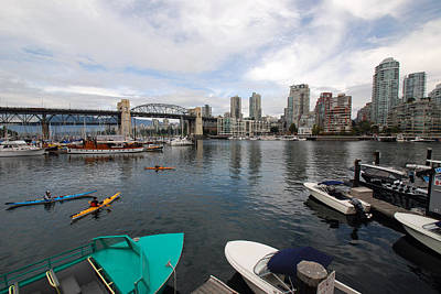 Photograph - Across False Creek by John Schneider