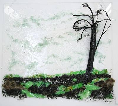 Across The Field Art Print by Mariann Taubensee