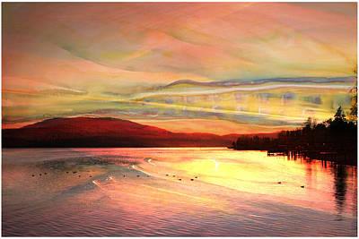 Photograph - Acrylic Sky by Melvin Kearney