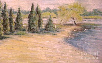 Pastel - Acworth Beach by Gretchen Allen