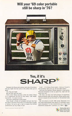 Photograph - Ad: Color Television, 1968 by Granger