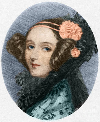 Photograph - Ada Lovelace by Science Source