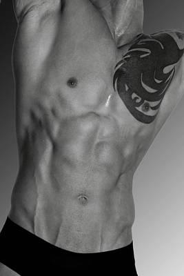 Bodybuilder Photograph - Adam 4 by Mark Ashkenazi