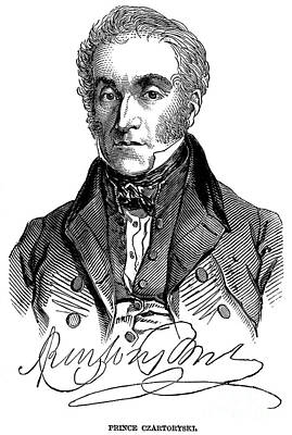 Adam Jerzy Czartoryski Print by Granger