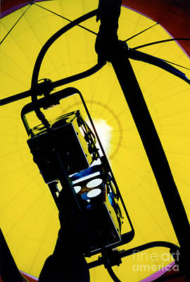 Balloon Photograph - Adding Fuel To The Fire by Thomas Luca