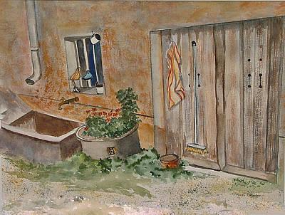 Painting - Adeline's Door by Heidi Patricio-Nadon