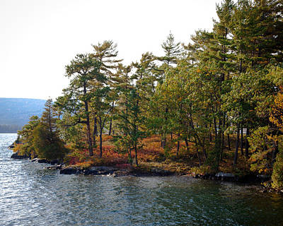 Photograph - Adirondack Island On Lake George by David Patterson