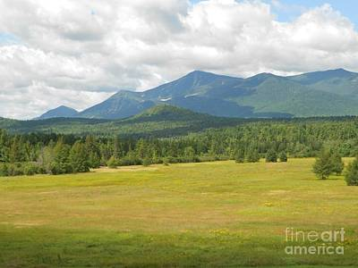 Adirondack Mountains Art Print