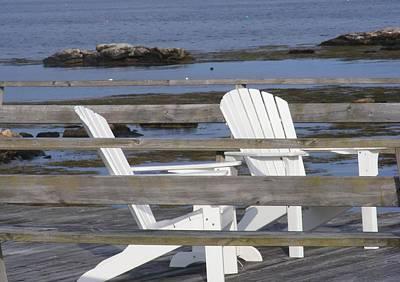 Adirondack Relaxin' Art Print by Carol Bruno
