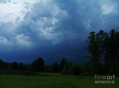 Adirondack Thunderstorm Art Print by Peggy Miller