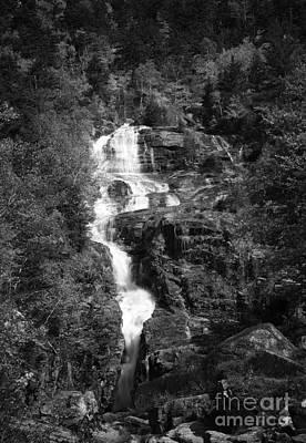 Photograph - Adirondack Waterfall by David Waldrop