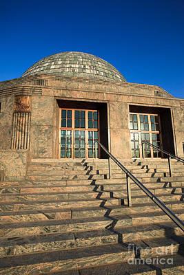 Adler Wall Art - Photograph - Adler Planetarium And Astronomy Museum In Chicago by Paul Velgos