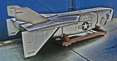 Photograph - Adm 20c Quail Missile Decoy by Samuel Sheats
