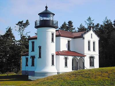Photograph - Admiralty Head Lighthouse by Kelly Manning