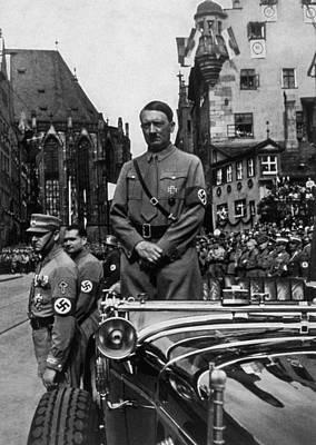 Adolf Hitler At Parteitag Der Freiheit Art Print by Everett