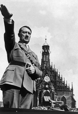 Adolf Hitler At Reichsparteitag, 1934 Print by Everett