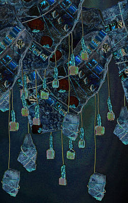 Mosaic Mixed Media - Adornment by Wendy Nelson