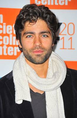 Adrian Grenier At Arrivals For George Art Print by Everett
