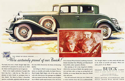 Photograph - Ads: Buick, 1932 by Granger