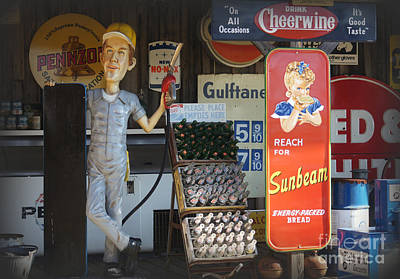 7 Up Photograph - Advertising Americana by Benanne Stiens