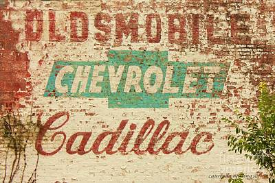 Advertising Old Style Art Print by Laurinda Bowling