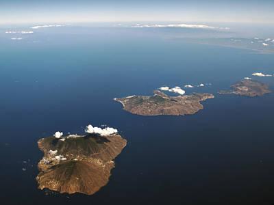 Lipari Photograph - Aeolian Islands, Salina, Lipari And Vulcano by Busà Photography