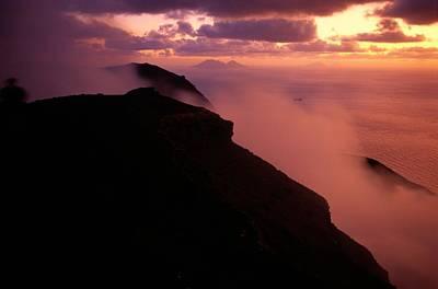 Lipari Photograph - Aeolian Or Lipari Islands Off Sicily by Sisse Brimberg