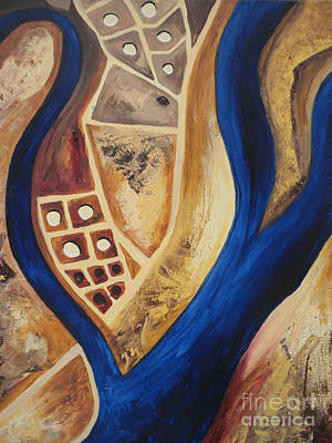 Painting - Aerial by Silvie Kendall