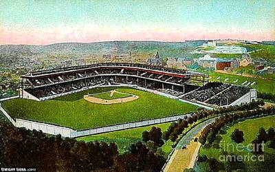 - Aerial View Of Forbes Field In Pittsburgh Pa In 1910 by Dwight Goss