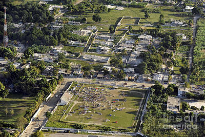 Photograph - Aerial View Of Port-au-prince, Haiti by Stocktrek Images