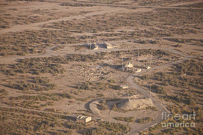 Kitchen Spices And Herbs - Aerial View Of Unknown Iraqi by Terry Moore