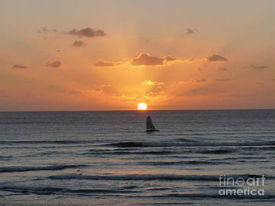 Photograph - Aerie Sunset by Deborah Smolinske