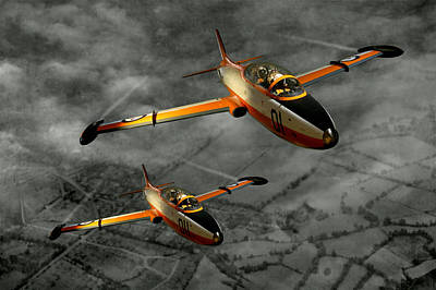 Aermacchi In Flight Art Print