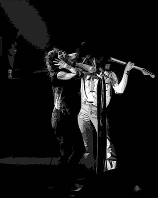 Photograph - Aerosmith In Spokane 27a by Ben Upham