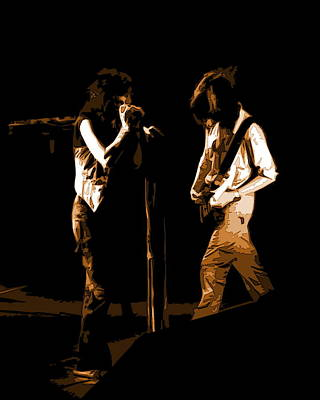 Photograph - Aerosmith In Spokane 29b by Ben Upham
