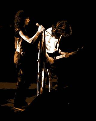 Photograph - Aerosmith In Spokane 31b by Ben Upham