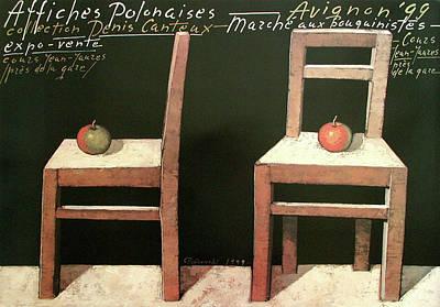 Mixed Media - Affiches Polonaises  by Mieczyslaw Gorowski