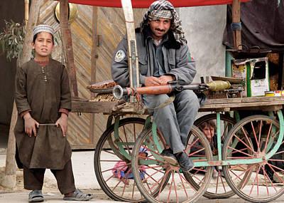 Afghan's Live Art Print