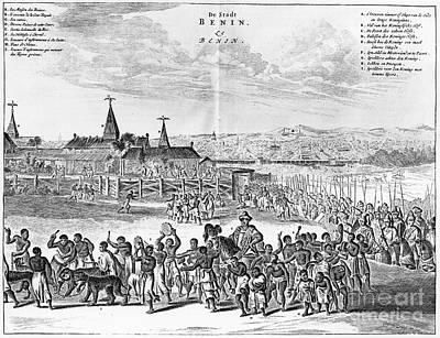 Africa: Benin City, 1686 Art Print by Granger