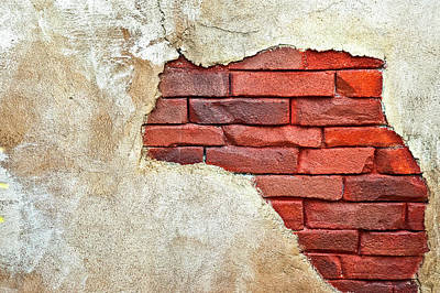 Photograph - Africa In Bricks by Carolyn Marshall